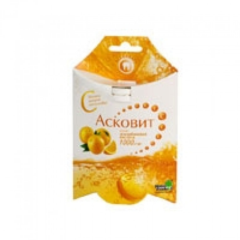 Асковит ( Витамин С ) 1г таблетки шипучие, апельсиновые №10