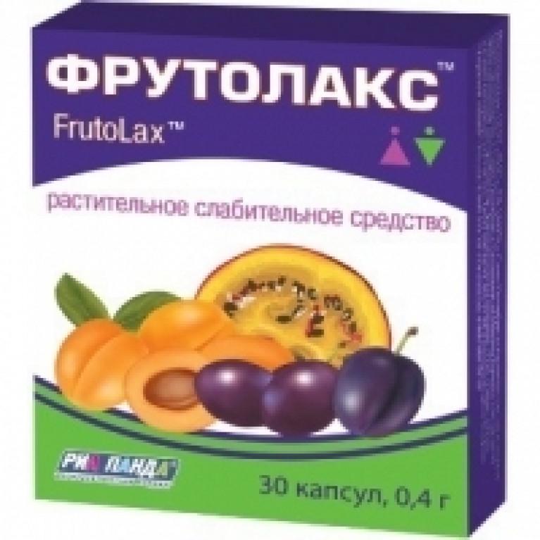 Фрутолакс капс.500мг №30(послабляющие)