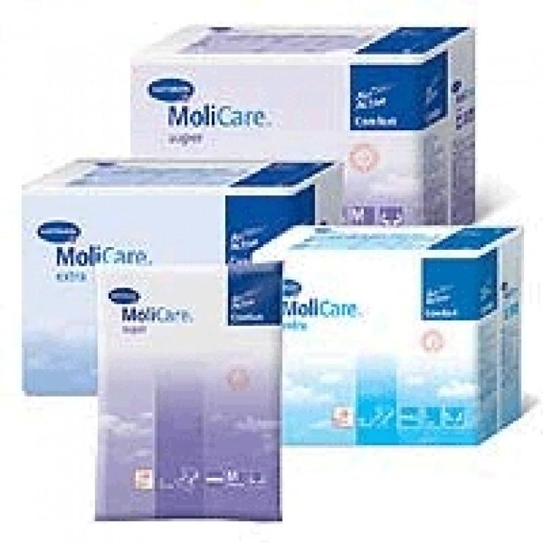 Подгузники д/взр. MoliCare Premium soft Extra L (120-150см) (3кап) №30