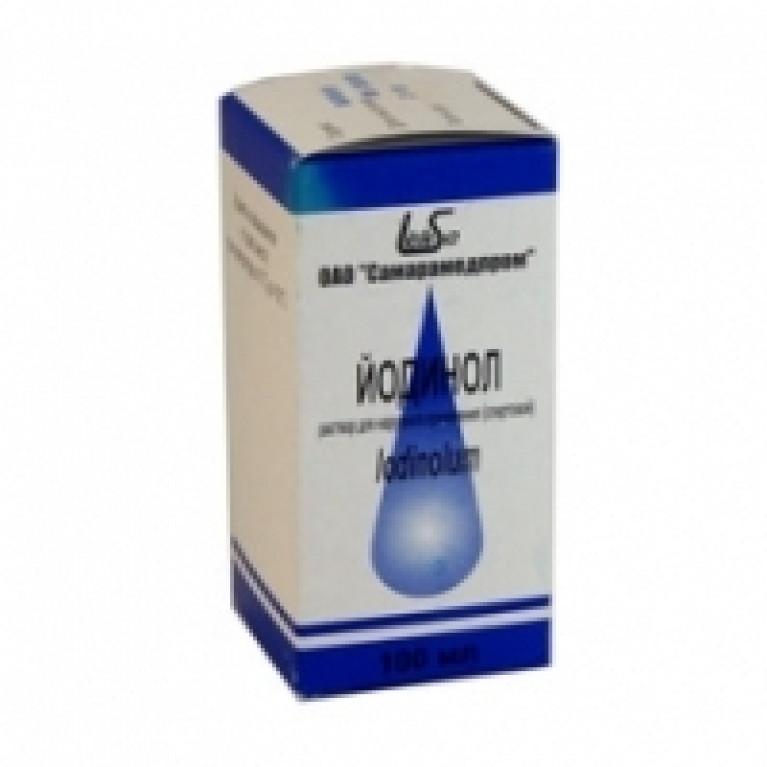 Йодинол раствор для местного и наружного применения фл.100 мл