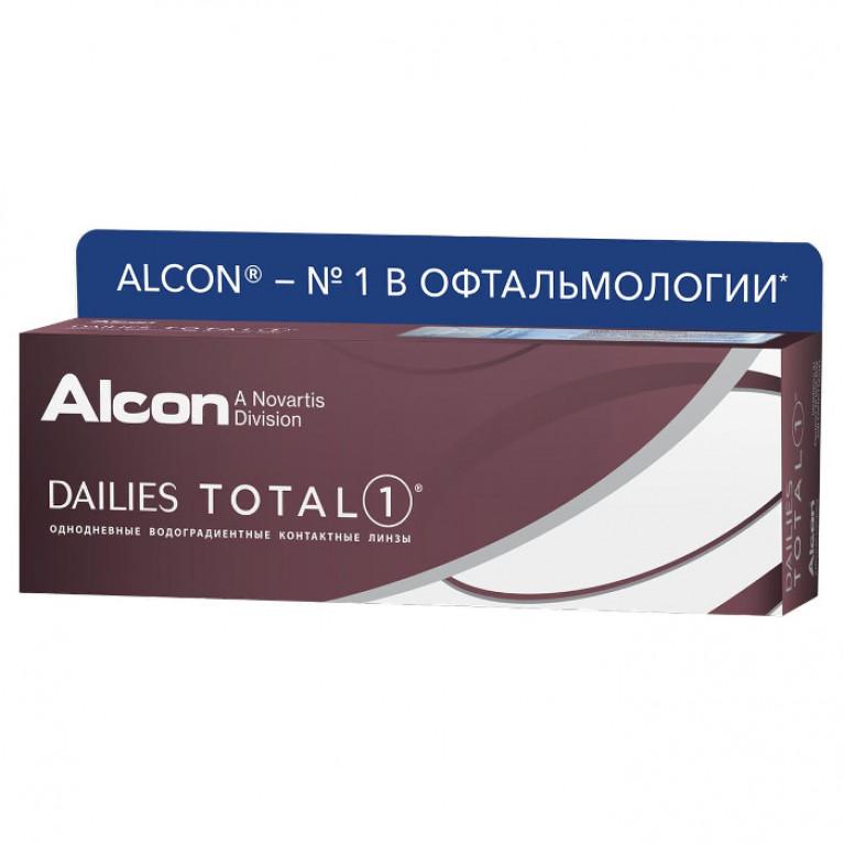 Dailies Total 1 30 линз R=8,5 (Ежедневные контактные линзы)