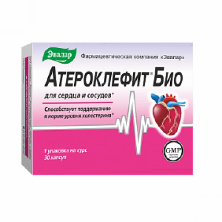 Атероклефит Био капсулы 250 мг №30