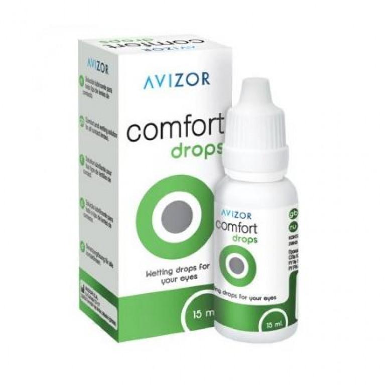 Авизор Комфорт Дропс (Avizor Comfort Drops) Капли д/линз 15 мл