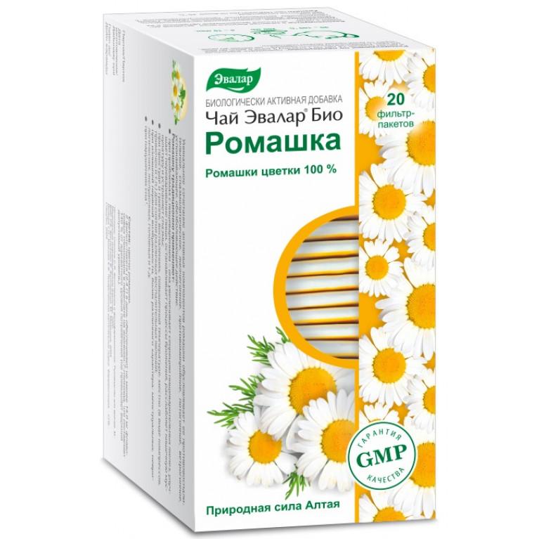 Чай Эвалар БИО Ромашка ф/п 1,2г №20