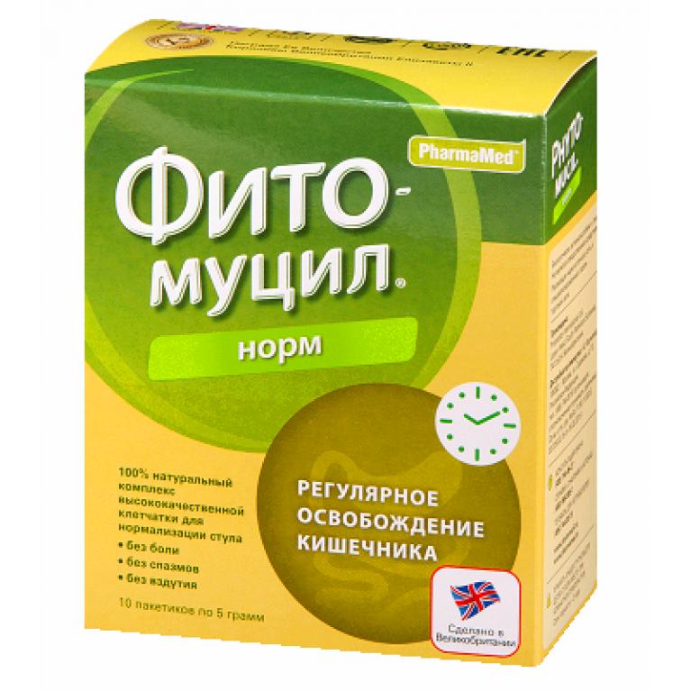 Фитомуцил Норм пакетики 5 г №10
