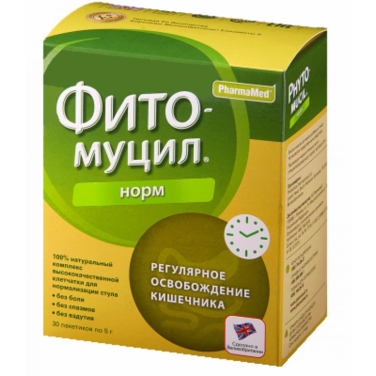 Фитомуцил Норм пакетики 5 г №30
