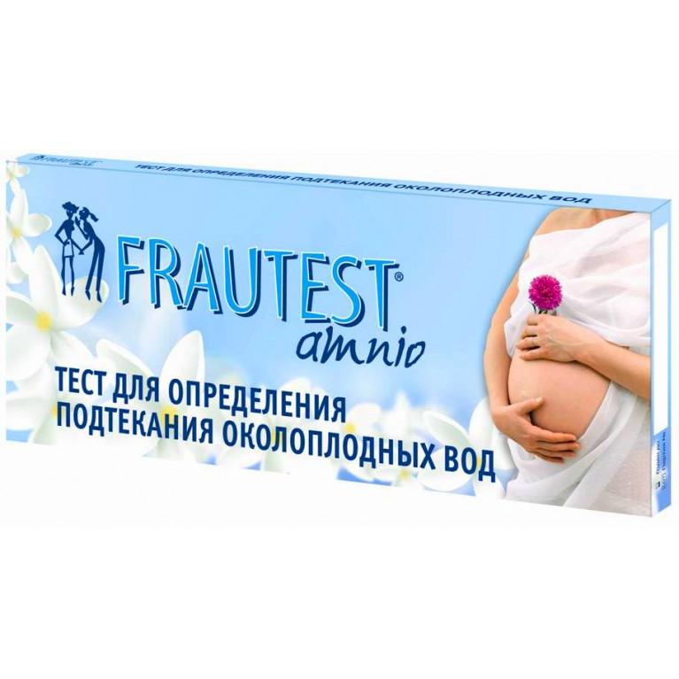 Тест-прокладки на определение подтекания околоплодных вод Фраутест Амнио ( Frautest amnio ) №1