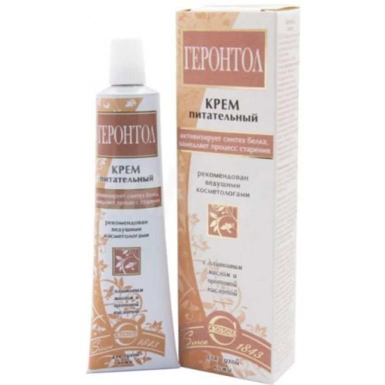 Геронтол крем д/лица питательный д/сухой кожи 40г