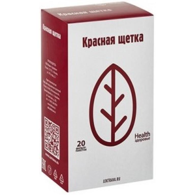 Красная щетка корневища с корнями фильтр-пакет №20