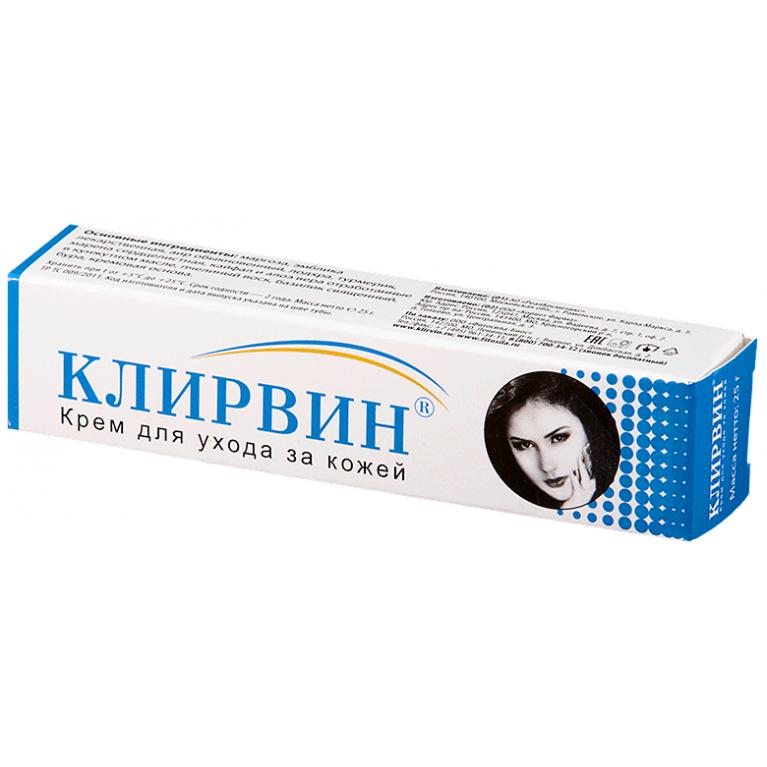 Крем Клирвин для ухода за кожей туба 25мл