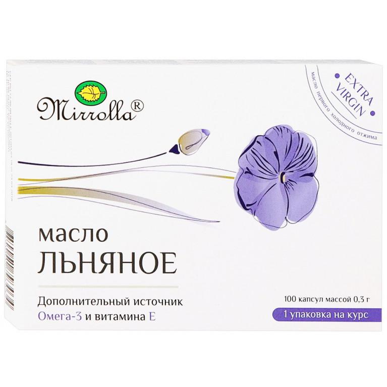 Масло Льняное капс. №100