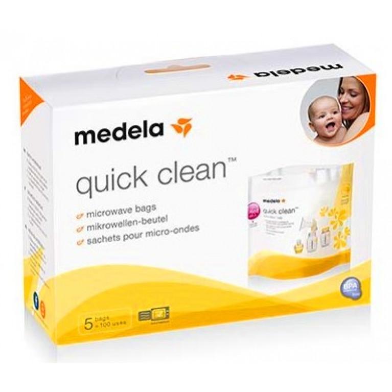 Пакеты Медела ( Medela Quick Clean ) для стерилизации в микроволновой печи молокоотсоса №5