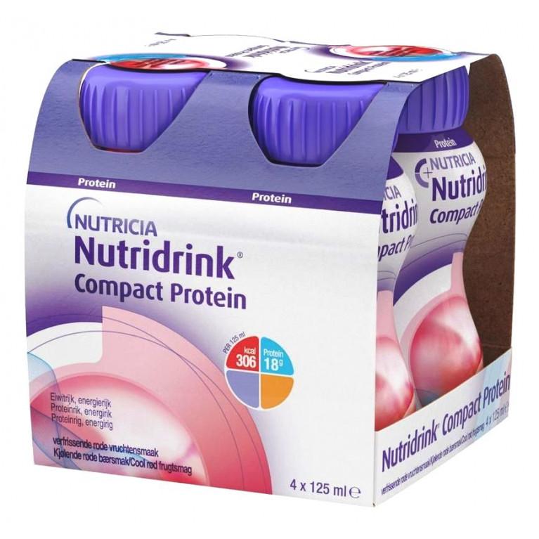 Нутридринк Компакт Протеин ( Nutridrink Compact Protein ) Фруктово-ягодный охлаждающий 125 мл №4