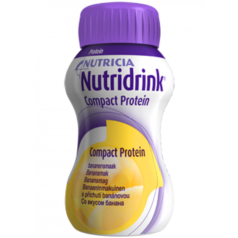 Нутридринк Компакт Протеин ( Nutridrink Compact Protein ) Банан 125 мл №4