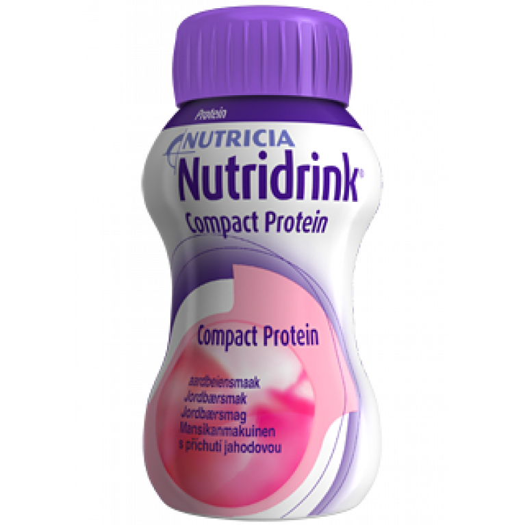 Нутридринк Компакт Протеин ( Nutridrink Compact Protein ) Клубника 125 мл №4