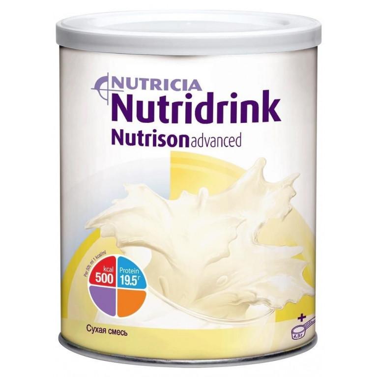 Нутризон Эдванст Нутридринк сухая полноценная низколактозная смесь 322 г для перорального или зондового питания
