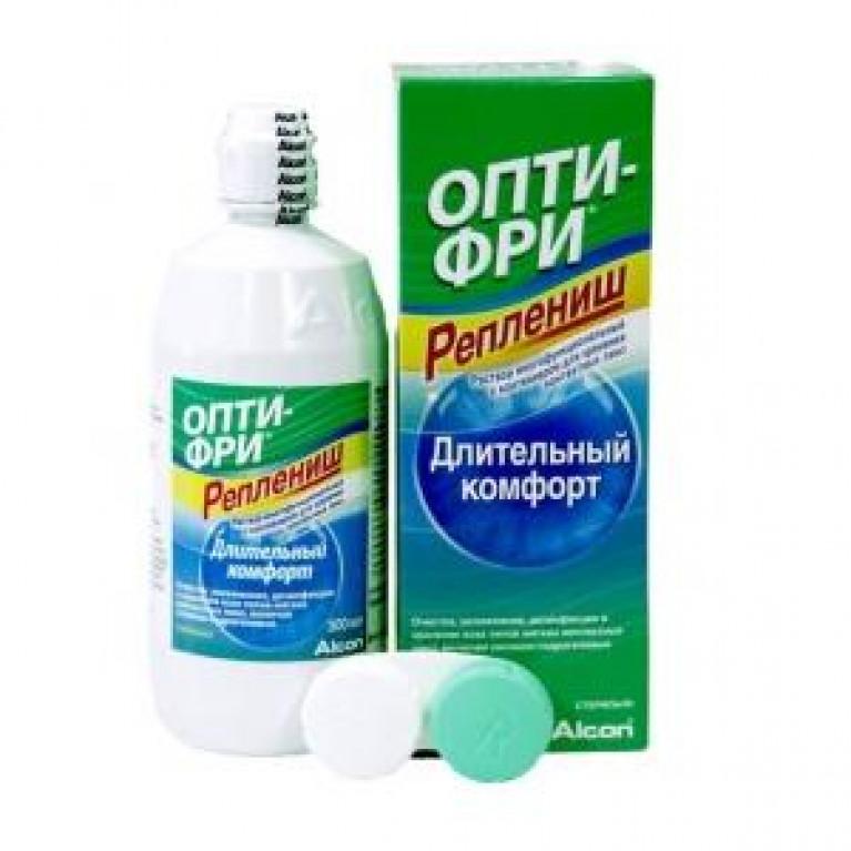 Опти-фри (Opti-free) Реплениш Раствор д/линз 90 мл