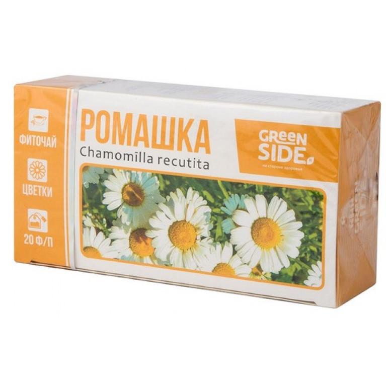 Ромашка цветки БАД ф/п 1,5 г №20