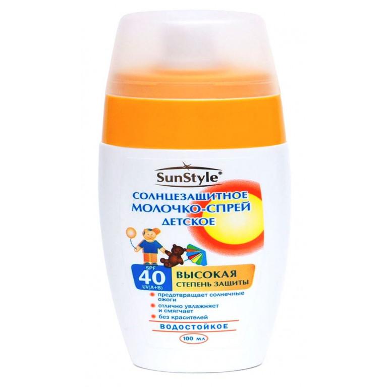 Сан Стайл (Sun Style) Молочко детское солнцезащитное SPF 40 100 мл