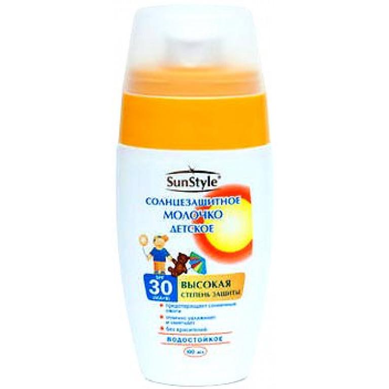 Сан Стайл (Sun Style) Молочко-спрей детское солнцезащитное SPF 30 100 мл