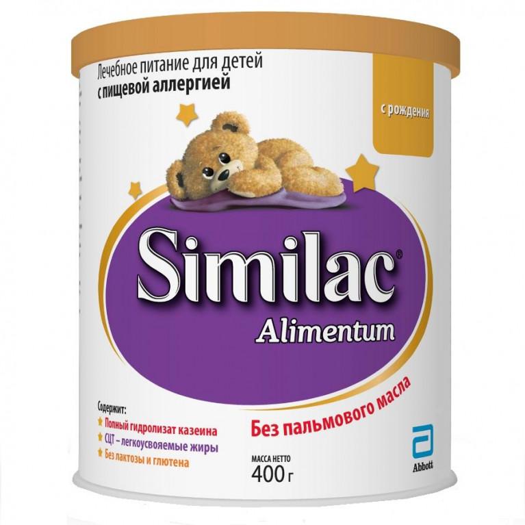 Смесь молочная Similac ( Симилак ) Alimentum ( Алиментум ) лечебное питание для детей с пищевой аллергией 400г ( от 0 мес. до 6 мес. )