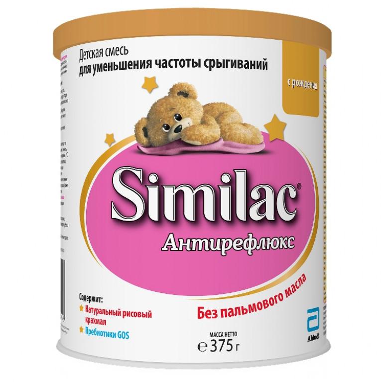 Смесь молочная Similac ( Симилак ) Антирефлюкс для уменьшения частоты срыгиваний 375г ( от 0 мес. до 6 мес. )