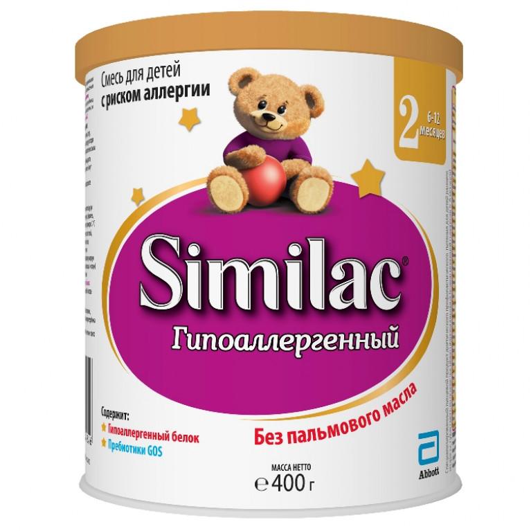 Смесь молочная Similac ( Симилак ) Гипоаллергенный-2 375г ( от 6 мес. до 12 мес. )