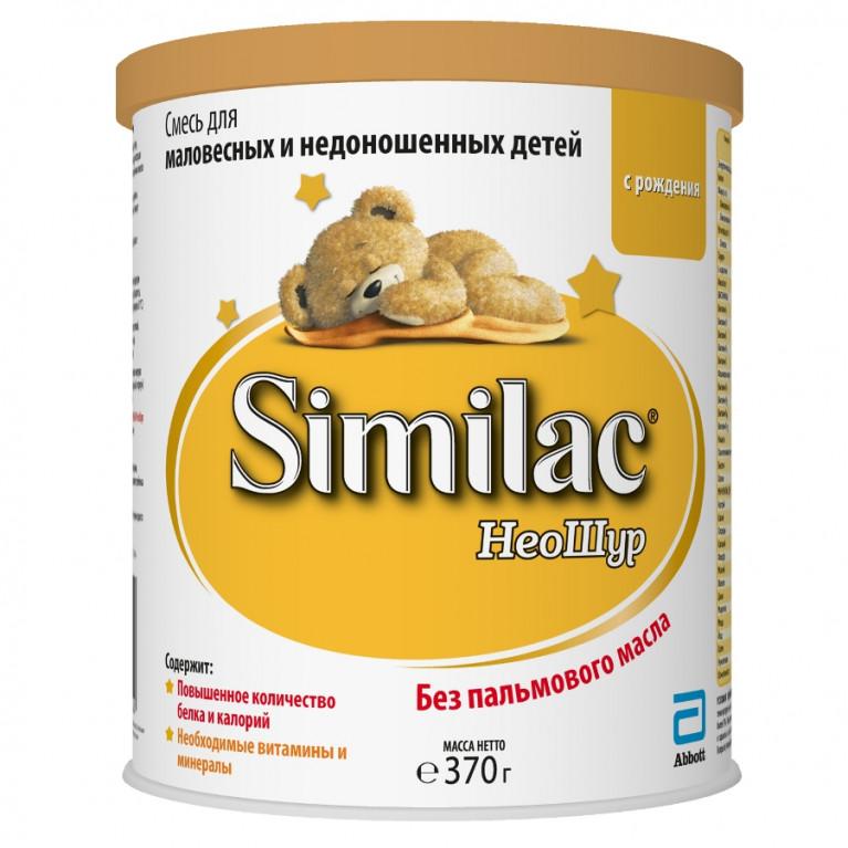 Смесь молочная Similac ( Симилак ) НеоШур для маловесных и недоношенных детей 370г ( с 0 мес. )