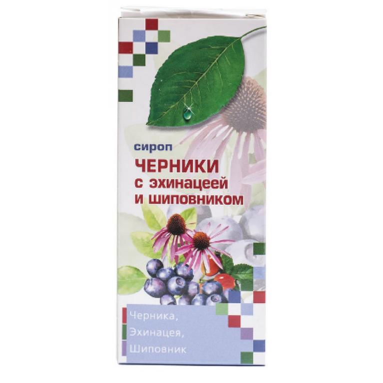 Сироп Черники с эхинацей и шиповником 100мл